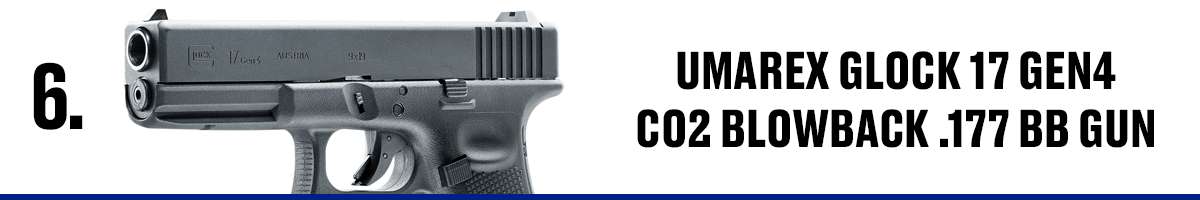 Umarex Glock 17 Gen4 CO2 Blowback .177 BB Gun