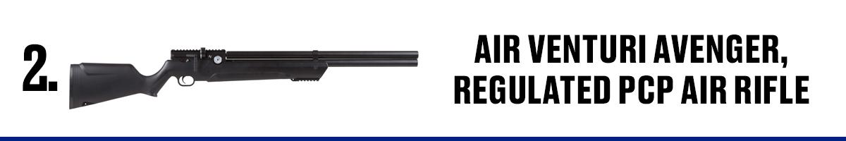 Air Venturi Avenger, Regulated PCP Air Rifle