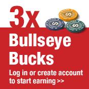 3X Bullseye Bucks