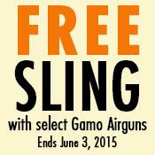 Free Gamo Rifle Sling - $10 Value