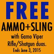 Free Ammo + sling - $18 Value