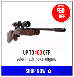 Tech Force Air Rifle Sale - Up to $50 off