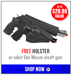 Free Holster + Hat Dan Wesson Airsoft guns