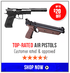 Top-rated air pistol sale