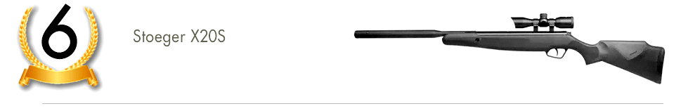 Stoeger Arms X20S Suppressor Air Rifle 2406 4822