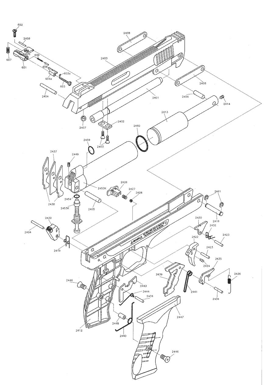 product schematics for beeman p3