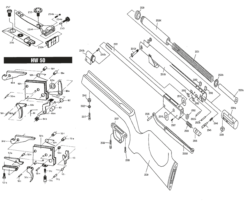 Gun Part Schematics