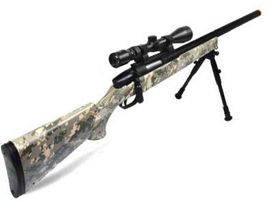 Army Digital UTG Master Sniper airsoft rifle combo