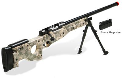 Army Digital Airsoft Rifle Shadow Ops