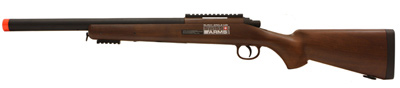 Swiss Arms M6-S Airsoft Sniper Black&Wood Rifle
