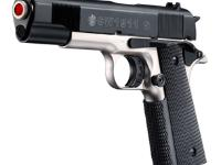 Smith &  Wesson Smith & Wesson 1911 S Blank Gun, Black/Nickel Blank gun