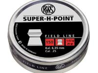 RWS Super-H-Point .25 Cal, 25.0 Grains, Hollowpoint, 150ct