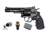 Dan Wesson 4 inch CO2 BB Revolver Kit, Black Air gun