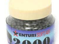 Air Venturi 6mm plastic airsoft BBs, 0.12g, 2000 rds, black