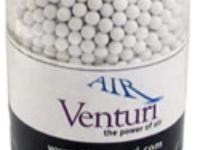 Air Venturi CQBBs 6mm airsoft BBs, 0.16g, 5000 rds, white