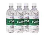 Air Venturi Pro CQBBs 6mm Biodegradable Airsoft BBs, 0.12g, 10,800 Rds, White