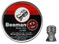 Beeman Silver Ace .25 Cal, 21.6 Grains, Domed, 180ct