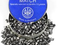 Beretta Match .177 Cal, 7.6 Grains, Wadcutter, 500ct
