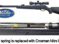 Gamo CFX Combo with Air Venturi Ram Air Gas Spring Air rifle