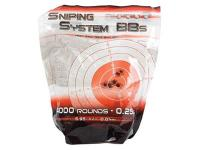 Cybergun Sniping System .23g Airsoft BBs, White, Premium Grade, 5,000 Rds