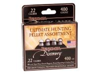 Benjamin Assorted Hunting Pellets, .22 Cal, 400ct