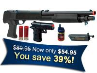Crosman Stinger 34P Pump Shotgun & 36P Pistol Kit Airsoft gun