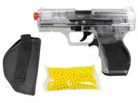 Crosman Stinger P9T Airsoft Pistol Kit Clear/Black Airsoft gun