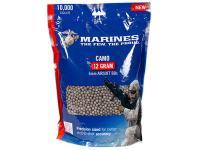 Crosman Marines Airsoft Camo Ammo Plastic Airsoft BBs, 0.12g, 10,000 Rds, Camo Color