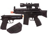 Crosman Urban Mission Airsoft Kit, Black Airsoft gun