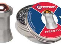 Crosman Fireball .177 Cal, 10.5 Grains, Steel Ball Tip, 250ct