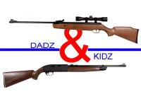 Dadz & Kidz Combo - Crosman Vantage & 2100B Air rifle