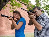 Crosman Dadz & Kidz Combo - Benjamin Titan & Sheridan Air rifle