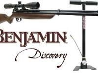 Benjamin Discovery Rifle, Pump & Scope Combo Air rifle