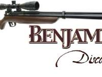 Benjamin Discovery Air Rifle Combo Air rifle