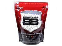 Echo1 USA Airsoft Echo1 Match Grade 6mm Plastic Airsoft BBs, 0.25g, 5000 Rds, White