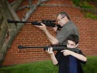 Gamo Dadz & Kidz Combo - Silent Cat & Recon G2 Whisper Air rifle