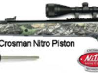 Walther Falcon Hunter with Nitro Piston Air rifle