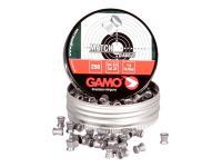 Gamo Match Pellets, .22 Cal, 15.43 Grains, Flat Nose, 250ct