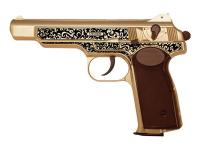 Gletcher Stechkin APS Gold Blowback CO2 BB Pistol Air gun