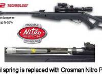 Gamo Whisper VH with Nitro Piston Air rifle