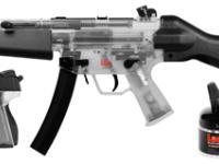 Heckler & Koch H&K MP5 & P30 Holiday Kit, Clear Airsoft gun