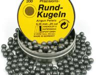 Haendler & Natermann H&N .25 Cal, Round Ball, 24 Grains, 200ct
