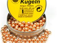 Haendler & Natermann H&N .25 Cal, Round Lead Balls, Copper-coated, 200ct