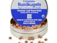 Haendler & Natermann H&N Copper-Plated Lead Round Balls, .22 Cal, 16.0 Grains, 200ct