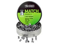 JSB Match Diabolo Pellets, .177 Cal, 7.33 Grains, Wadcutter, 500ct