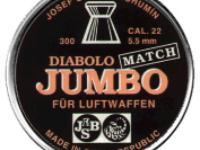 JSB Diabolo Jumbo Match .22 Cal, 14.9-15.1 Grains, Wadcutter, 300ct