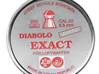 JSB Diabolo Exact Jumbo .22 Cal, 15.8 Grains, Domed, 250ct