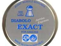 JSB Diabolo Exact Jumbo Express .177 Cal, 7.6 Grains, Domed, 500ct
