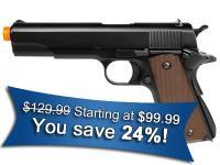 KJ Works Full Metal 1911 Gas Airsoft Pistol Airsoft gun