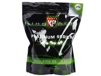 King Arms 6mm Platinum Series Airsoft BBs, 0.25g, Olive Green, 4000 Rds
